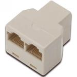 Spliter/multiplicator retea RJ45 8P8C la 2 x porturi RJ45 M-M