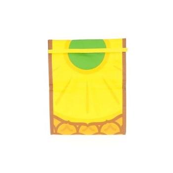 Punga galbena pentru mancare Mustard cu print