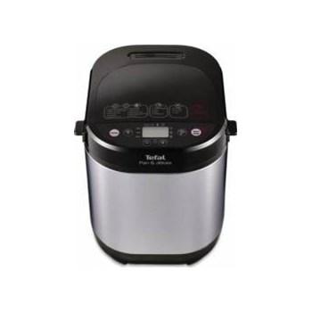 Masina de paine Tefal Pain & Delices PF240E38, 700 W, 1000 g, 20 programe, Argintiu/Negru