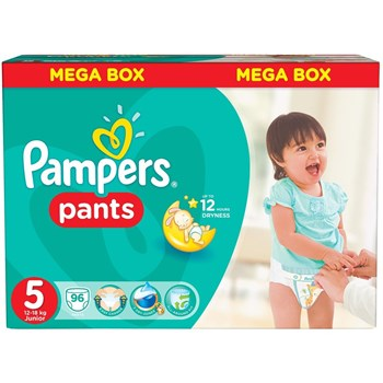 Scutece-chilotel Pampers Pants BOX 5 11-18 kg 96 buc