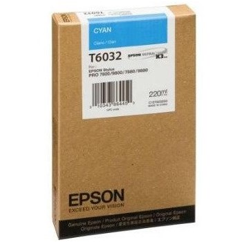 CARTUS CYAN C13T603200 220ML ORIGINAL EPSON STYLUS PRO 7800