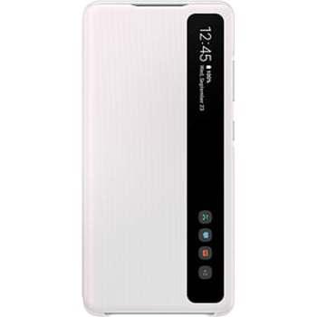 Husa Smart Clear View Cover pentru SAMSUNG Galaxy S20 Fan Edition, EF-ZG780CWEGEE, alb