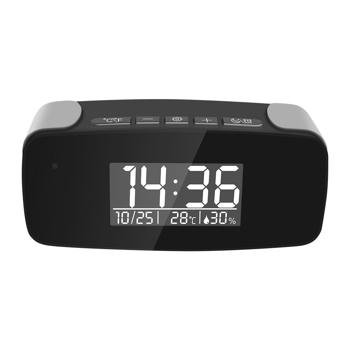 Camera ascunsa in ceas de birou Aishine AI-IP006, WiFi, 2 MP