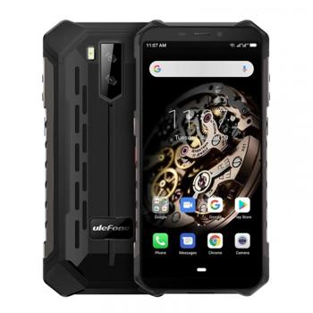 Telefon mobil Ulefone Armor X5, 4G, IPS 5.5inch, 3GB RAM, 32GB ROM, Android 10.0, MT6762 OctaCore, Waterproof, 5000mAh, Dual SIM, Negru