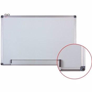 Whiteboard magnetic Optima cu rama din aluminiu, 100 x 150 cm