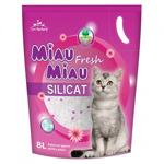 Asternut Igienic Miau Miau Fresh Silicat 8 Litri