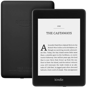 eBook reader Kindle Paperwhite 2018, 300 ppi, rezistent la apa, 8GB, negru