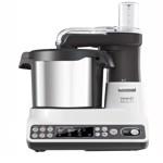 Robot de bucatarie Kenwood kCook Multi Cooking CCL401WH, 1500W, 4.5L bol, 6 Functii, Aplicatie mobila, Alb-Gri