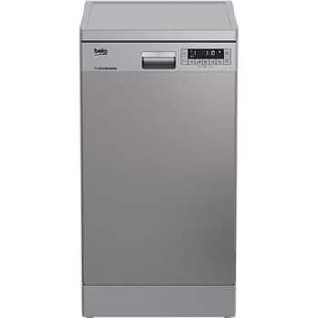 Masina de spalat vase independenta Beko DFS26024X, 10 seturi, 6 programe, A++, Display LCD, 45 cm, Slim, Inox