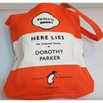 Sacoșă Sacoșă Penguin (Book Bag) - Here Lies – The Collected Stories of Dorothy Parker
