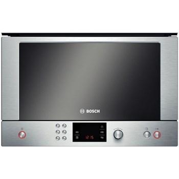 Cuptor cu microunde incorporabil Bosch, 900W, 60 cm, Display, Invertor, Dezghetare, Inox