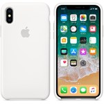 Husa de protectie Apple pentru iPhone X, Silicon, White