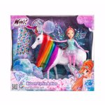 Set Winx - Zana Tynix Bloom si unicornul Elas