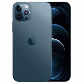 "Telefon Mobil Apple iPhone 12 Pro, Super Retina XDR OLED 6.1"", 128GB Flash, Camera Quad 12 + 12 + 12 MP + TOF 3D, Wi-Fi, 5G, iOS (Albastru)"