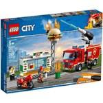 LEGO City Stingerea Incendiului de la Burger Bar 60214