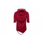Tricou MBrands asimetric cu gluga si maneci trei sferturi