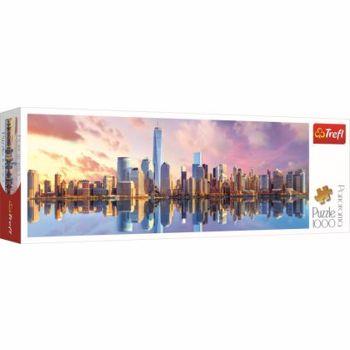 Puzzle Trefl panorama - Manhattan, 1000 piese