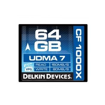 Delkin CF 64GB 1000X - card de memorie UDMA 7