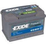 Baterie auto Exide Premium 72Ah 720A EA722 720