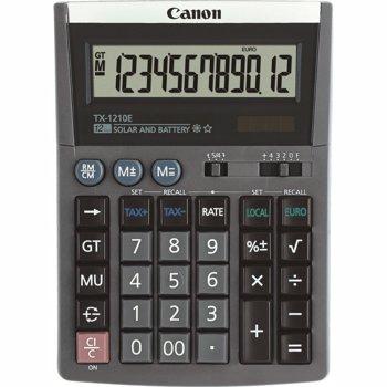 Calculator de birou Canon TX-1210E, 12 cifre