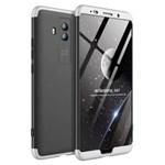 Husa Protectie Spate GKK 360 Negru / Argintiu pentru Huawei Mate 10