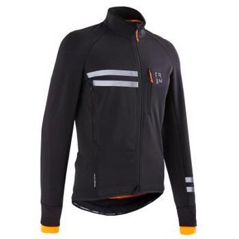 Jachetă ciclism iarnă RC 500 Negru bărbați TRIBAN