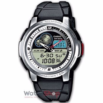 Ceas cronograf digital cu display analog