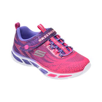 Pantofi sport SKECHERS roz, Litebeams, din material textil