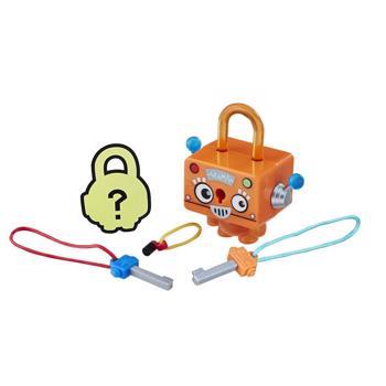 Figurine / Figurina breloc Lock Stars - Robot portocaliu (E3207)