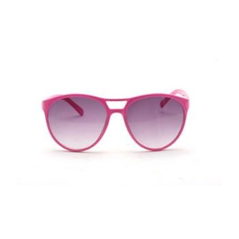 Ochelari de soare cu rama roz neon