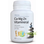 Ca-Mg-Zn Vitamineral 60cpr ALEVIA