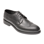 Pantofi OTTER negri, 1042, din piele naturala