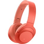 Casti SONY WHH900NR, Bluetooth, NFC, On-Ear, Microfon, Noise Cancelling, Hi-Res, rosu