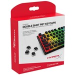Kit butoane tastatura HyperX Double Shot PBT Keycap Kit, layout US, Negru