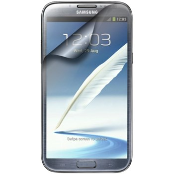 Folie protectie Samsung ETC-G1J9BEGSTD cu rama neagra pentru Galaxy Note