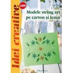 Idei Creative 109 - Modele String Art Pe Carton Si Lemn