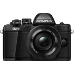 Aparat foto Mirrorless Olympus E-M10 Mark II Negru Kit EZ-M1442 IIR Negru v207051be000