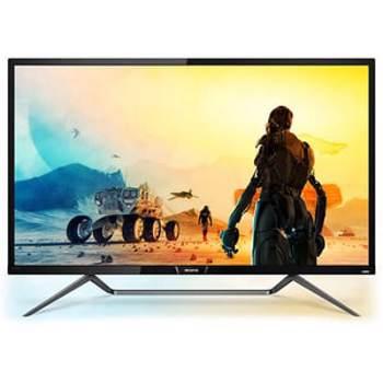 "Monitor gaming LED VA Philips 42.5"", Quantum Dot, 4K UHD, HDR 1000, FreeSync, Display Port, Negru, 436M6VBPAB"