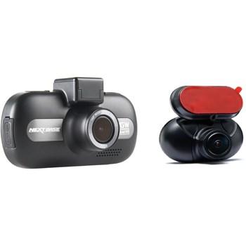 Camera auto duala cu DVR Nextbase 512GWRC, 4MP, WiFi, GPS, detectie miscare