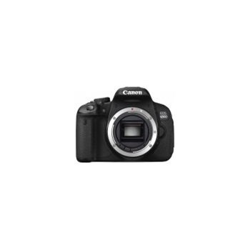 Aparat Foto D-SLR Canon EOS 650D Body (Negru), Filmare Full HD, Ecran Tactil Rabatabil