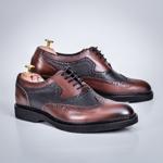Pantofi Piele Godoli maro