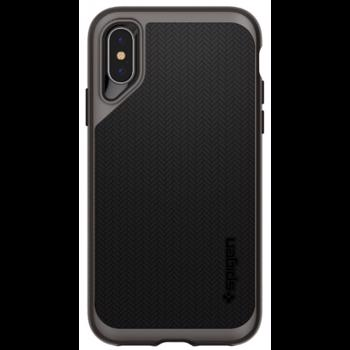 Protectie Spate Spigen Neo Hybrid 065CS24838 pentru iPhone XS Max (Negru/Gri)