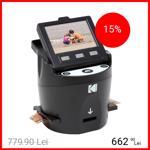 Scanner Digital Pentru Filme Foto Si Diapozitive Kodak Scanza Negru rodfs35