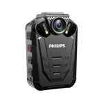 Body camera Full HD Philips VTR8210 + Card 32 GB inclus, 32 MP