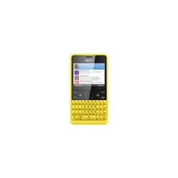 Telefon Mobil Nokia Asha 210 (Galben)