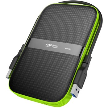 HDD Extern Silicon Power 2TB PHD Armor A60 Negru sp020tbphda60s3k
