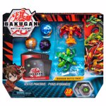 Figurine / Set 5 Bakugan Battle Planet, Ventus Phaedrus, Pyrus Hydranoid, 20115151