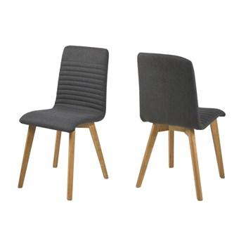 Set 2 scaune din lemn Arosa Dark Grey