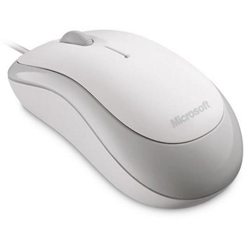 MOUSE MICROSOFT BASIC L2 USB WHITE P58-00058