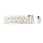 Kit tastatura si mouse wireless TED-1 - alb